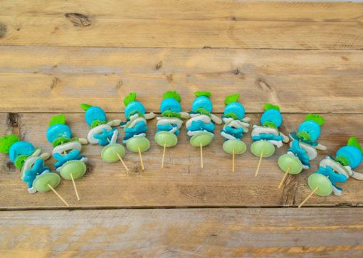 Spiezen Groen/Blauw